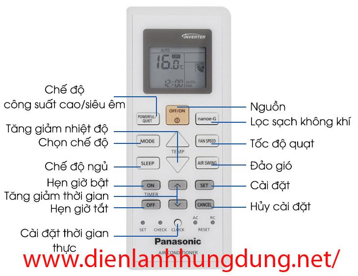 chế độ điều khiển giúp tiết kiệm điện điều hòa
